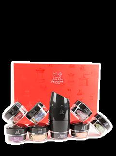 Coffret Tour du monde en 8 poivres - Peugeot Saveurs
