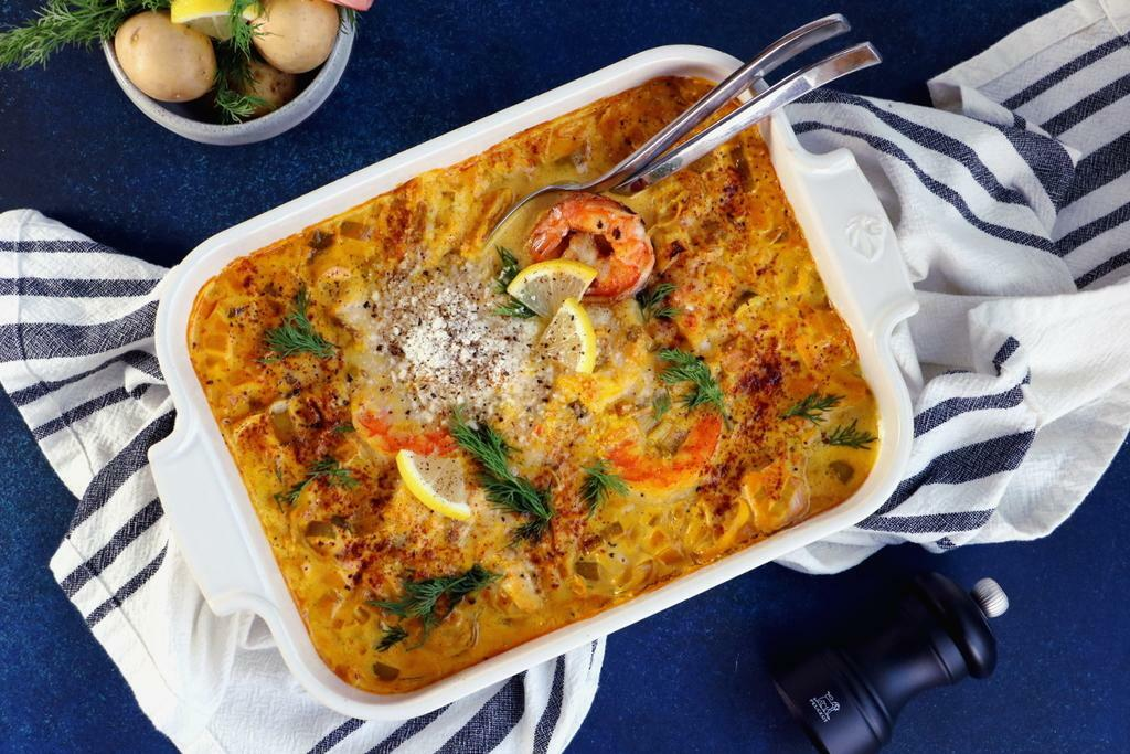 Fish and Shrimp Casserole with Saffron_landscape2 - Peugeot Saveurs